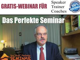 "Webinar: Das Perfekte Seminar Mit ""Tom Freudenthal"""