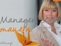 Webinar: Managen statt Mauern - Ihr Kunde als Berater!