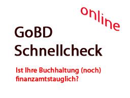 Webinar: GoBD Schnellcheck für Unternehmen