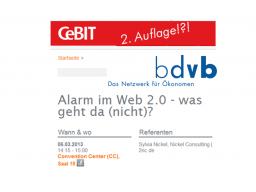 Webinar: Cloud Working. Alarm im Web! Was geht da (nicht)?