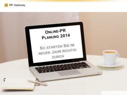 Webinar: Online-PR Planung