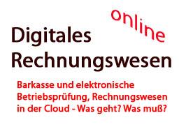 Webinar: Barkasse ab 2017 - digitales Rechnungswesen