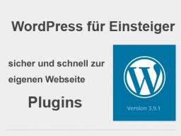 Webinar: WordPress Funktionserweiterung mit Plugins