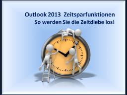 Webinar: Outlook - Zeitsparfunktionen