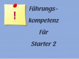 Webinar: Führungskompetenzen für Starter 2