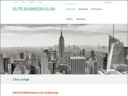 Webinar: ELITE-BUSINESS-CLUB  Topthema Bestimmung Zielgruppen-Segment