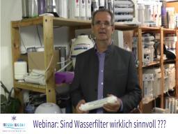 Webinar: Sind Wasserfilter wirklich sinnvoll?