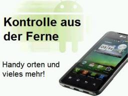 Webinar: Kontrolle aus der Ferne über Android Smartphone`s.