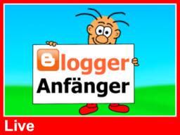 Webinar: Blogger-Kurs für Anfänger (LIVE)