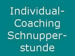 "Webinar: Individual-Online-Coaching: ""Schnupperstunde"""