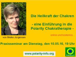 Webinar: Die Heilkraft der Chakren