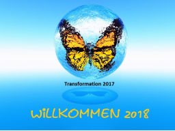 Webinar: Transformationen 2017 - Willkommen 2018