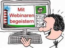 Webinar: Locker vom Hocker - Wie du im Webinar deine Teilnehmer begeisterst
