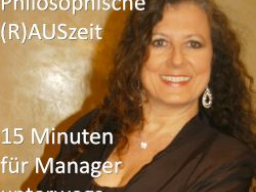 Webinar: Philosophische  Morgen(R)AUSzeit