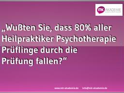 Webinar: Die 5 größten Fehler, die Heilpraktiker Psychotherapie Prüfung nicht zu bestehen.
