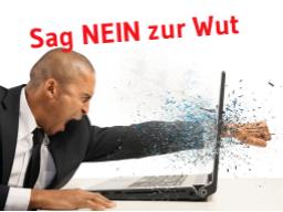 """Webinar: Sag Deiner Wut und Deinem Ärger """"Auf Wiedersehen""""."""
