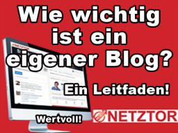Webinar: Wie wichtig ist ein eigener Blog? - Ein erster Leitfaden!