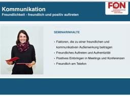 Webinar: Business: Freundlich kommunizieren