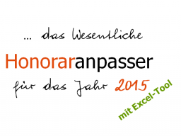 Webinar: Der Preis- und Honoraranpasser - Werkzeug für Selbständige und Freiberufler