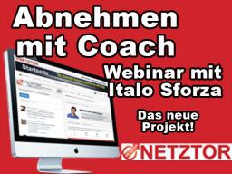 Webinar: Abnehmen mit Coach - Webinar mit Italo Sforza