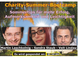 Webinar: charity summer bootcamp