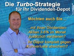Webinar: Die Turbo-Strategie für Dividenden-Depots