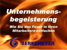 Webinar: Robert Berkemeyer-Unternehmensbegeisterung