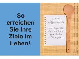Webinar: Die Löffel-Liste: in 5 Schritten zum Ziel!