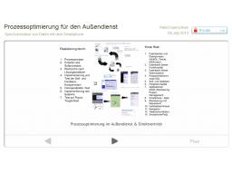 Webinar: Prozessoptimierung für den Außendienst