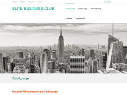 Webinar: ELITE-BUSINESS-CLUB  Topthema Erfolgskonzept Hidden Champions