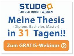 Webinar: Webinar - Meine Thesis in 31 Tagen!