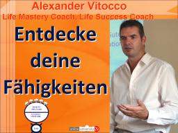 Webinar: Alexander Vitocco - Entdecke Deine Fähigkeiten