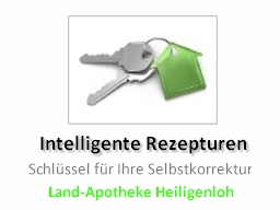 Webinar: Intelligente Rezepturen  Schlüssel für ihre Selbstkorrektur