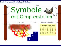 Webinar: Mit Gimp Symbole für Facebook & Co. erstellen!