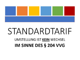 Webinar: STANDARDTARIF - UMSTELLUNG IST KEIN TARIFWECHSEL IM SINNE § 204 VVG