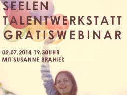 Webinar: SEELEN-TALENT WERKSTATT