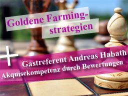 Webinar: Goldene Farmingsstrategien & Akquisekompetenz durch Immobilienbewertungen