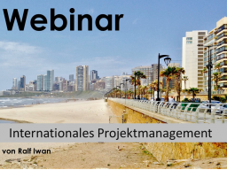 Webinar: Internationales Projektmanagement