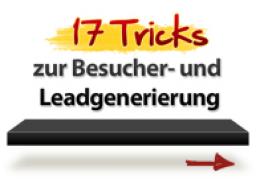 Webinar: 17 Tricks zur Besucher- und Leadgenerierung