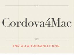 Webinar: Cordova4Mac oder wie erstelle ich elegant native iOS Apps?