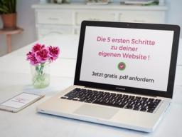 Webinar: Websiten selbst erstellen - für Starter