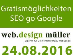 Webinar: Gratismöglichkeiten für die Suchmaschinenoptimierung