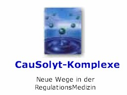 Webinar: CauSolyt-Komplexe (Indikativmittel)