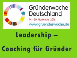 Webinar: Leadership-Coaching für Gründer