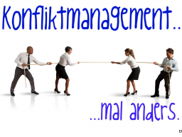 Webinar: Konfliktmanagement - mal anders