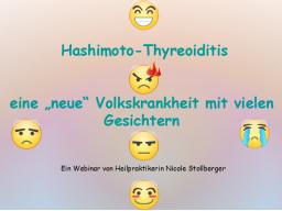 """Webinar: Hashimoto-Thyreoiditis - eine """"neue"""" Volkskrankheit mit vielen Gesichtern"""