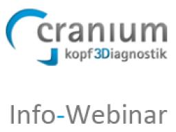 Webinar: Kostenloses Infowebinar cranium kopf3Diagnostik - DVT Diagnostik für den Raum Köln, Bonn und Koblenz
