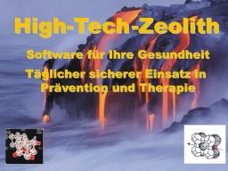 Webinar: High-Tech-Zeolith  Software für Ihre Gesundheit