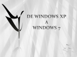 Webinar: Diferencias entre los sistemas Window XP, Vista y 7