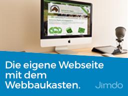 Webinar: Professionelle Webseite mit dem Webbaukasten Jimdo